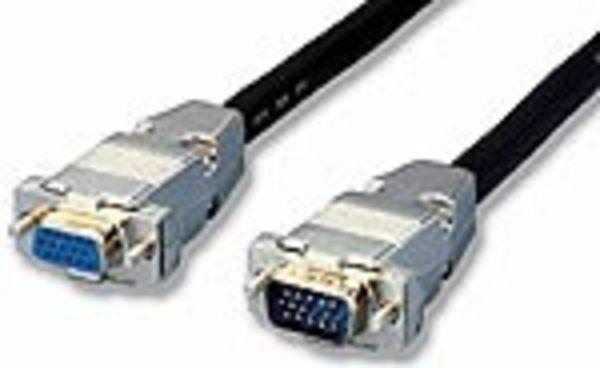 equip VGA Monitorverlängerungskabel 3+7 Stecker/Buchse 1,8m