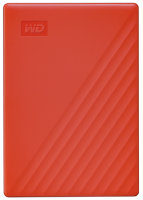 Western Digital My Passport 2TB Rot HDD USB 3.0 new