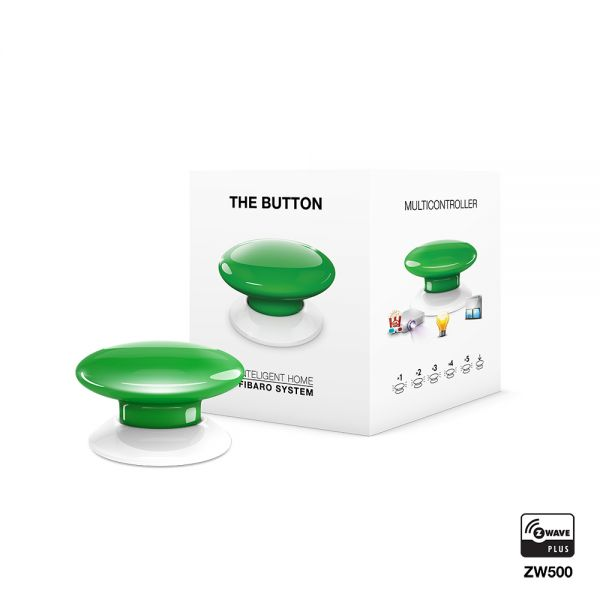 FIBARO The Button grün
